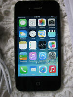 ROGERS iPhone 4S black 16GB - works like new