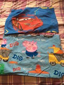 Cot bed / toddler bed bedding