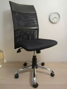 Office chair, mesh back – Chaise sur roues
