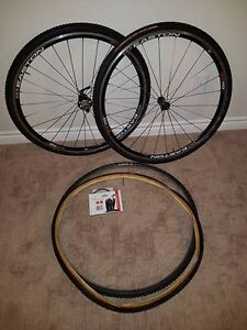 Easton Cyclocross Tubular Wheels and Tires