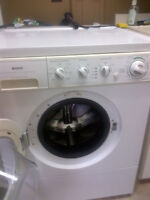 Kenmore frontloading Stackable washer and dryer