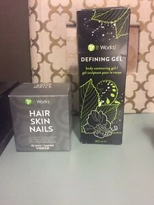 IT WORKS defining gel and hair skin nails Strathcona County Edmonton Area image 1