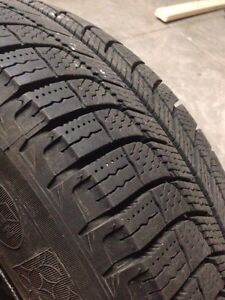 Michelin X-Ice 3 winter tires with rims Kitchener / Waterloo Kitchener Area image 2