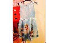 Elsa dress size 4-5y