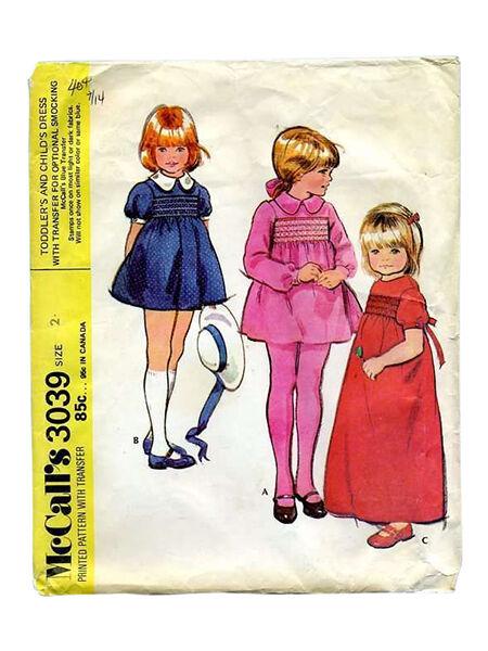 Vintage Mccall 86