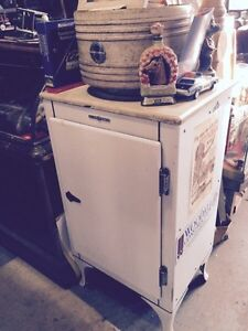 Antique fridge