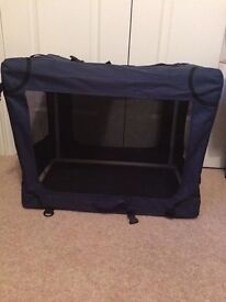 SMALL TRAVEL PUPPY CRATE