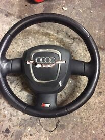 Audi A3 sline steering wheel