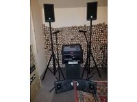 HK Audio LUCAS 1000 complete PA system