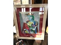 Picasso genuine painting