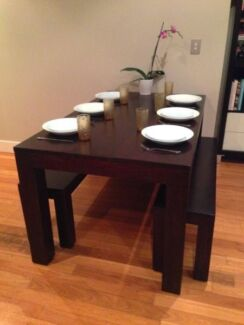 MODERN DINING TABLE + BENCHES: GREAT FOR APARTMENT: MAKE AN OFFER Vaucluse Eastern Suburbs Preview