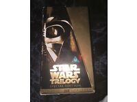 Star wars vhs trilogy