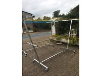 Galvanised mobile clotheslines 07933729111
