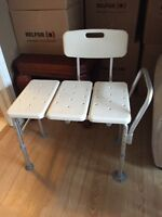 125 OBO - Shower/Bath Transfer Bench