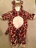 Halloween Giraffe Costume 0-6 months