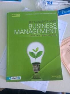 Year 11 Business Management Textbook unit 1&2