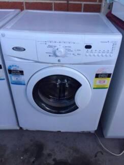 3.5 star modern great working 7.5 kg front whirlpool washing mach