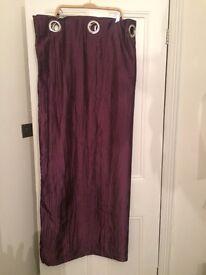 Curtains 229 x 139 - Burgundy / Wine coloured