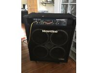 Hartke VX3500 series 4x10 bass combo with detachable Hartke HA3500 amp