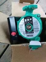 Wilo Star 3 speed pump with flanges