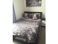 Bedroom Furniture - Bed, Mattress, Beside Table, Chest of Drawers, Wardrobe