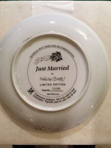 Just married limited edition plate London Ontario image 2