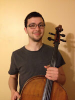 Cello Teacher Now Accepting Summer Students