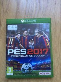 PES 2017: Xbox One