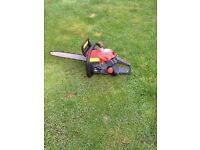 SOVEREIGN PETROL CHAINSAW WORKS GREAT CB5 £50