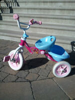 Tricycle rose fille princesses fillette