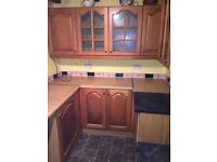 Full kitchen cupboards & units