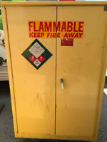 Chemical Cabinet, Paint Cabinet, Storage Cabinet, Accordion Door