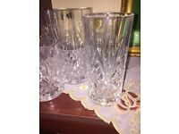 Set of 8 crystal glasses brand new