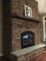 FIREPLACE MAKEOVER - WE TRANSFORM YOUR FIREPLACE !