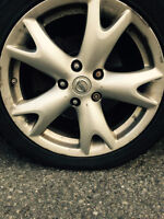 Nissan Rims with Tires