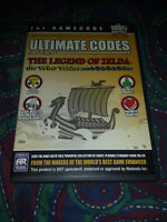 Ultimate Codes, for use with The Legend of Zelda the wind waker