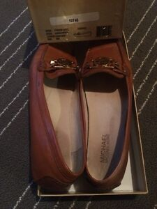 Michael Kors Loafers- Luggage- size 8