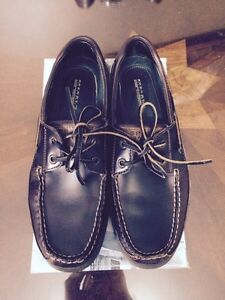 Never worn Sperry Leather Boat Shoes