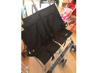 Double buggy nearly new condition