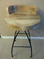 Marcus Industrial Chic Bar Stool - Set of Two - Brand New Colour