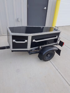 One Of A Kind Motorcycle Trailer