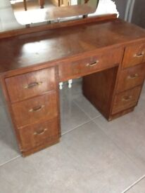Up cycle Project - Dressing Table & Mirror - Can Deliver