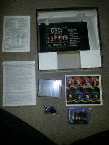 BRAND NEW CSI BOARD GAME WAS NEVER PLAYED AND STUFF IS  SEALED!! London Ontario image 2