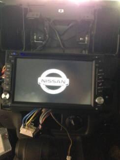 Nissan xtrail gtr patrol pathfinder qashqai car dvd gps free cam
