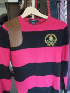 Pink and Navy Ralph Lauren Polo Size Small (FITS XXS)