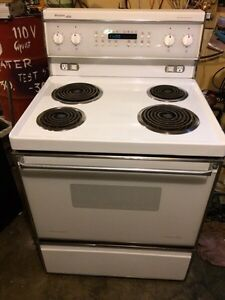 coil top fridgidaire Elite convectional stove with  self clean
