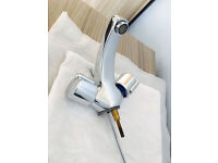 Quality basin mixer tap, costs £135,bargain at £45,immaculate, exactly as seen in pictures