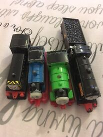 Collectors Thomas the tank engine trains