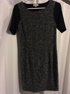 Stretch black and grey dress $40 Kingston Kingston Area image 1