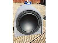 "Vibe 15"" sub in Fli box 1200w of bass"